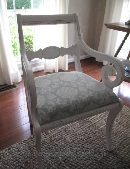 Reupholstered Dining Room Chair diy-011