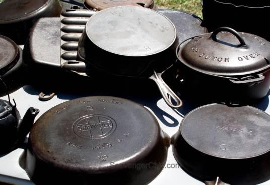 Route 11 Yard Crawl 2016-cast iron pots