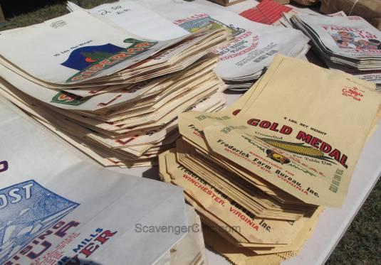 Route 11 Yard Crawl 2016-flour bags