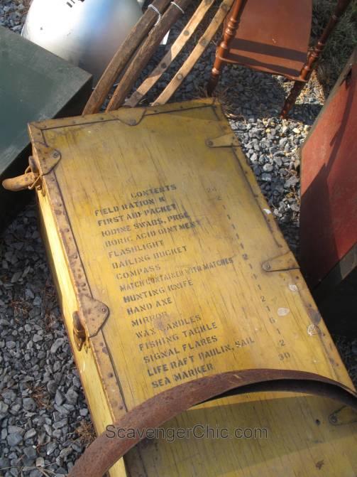 Route 11 Yard Crawl 2016-lifeboat supply box