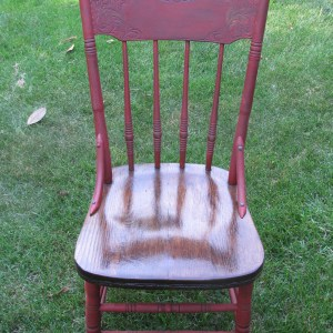 Curbside Chair Makeover