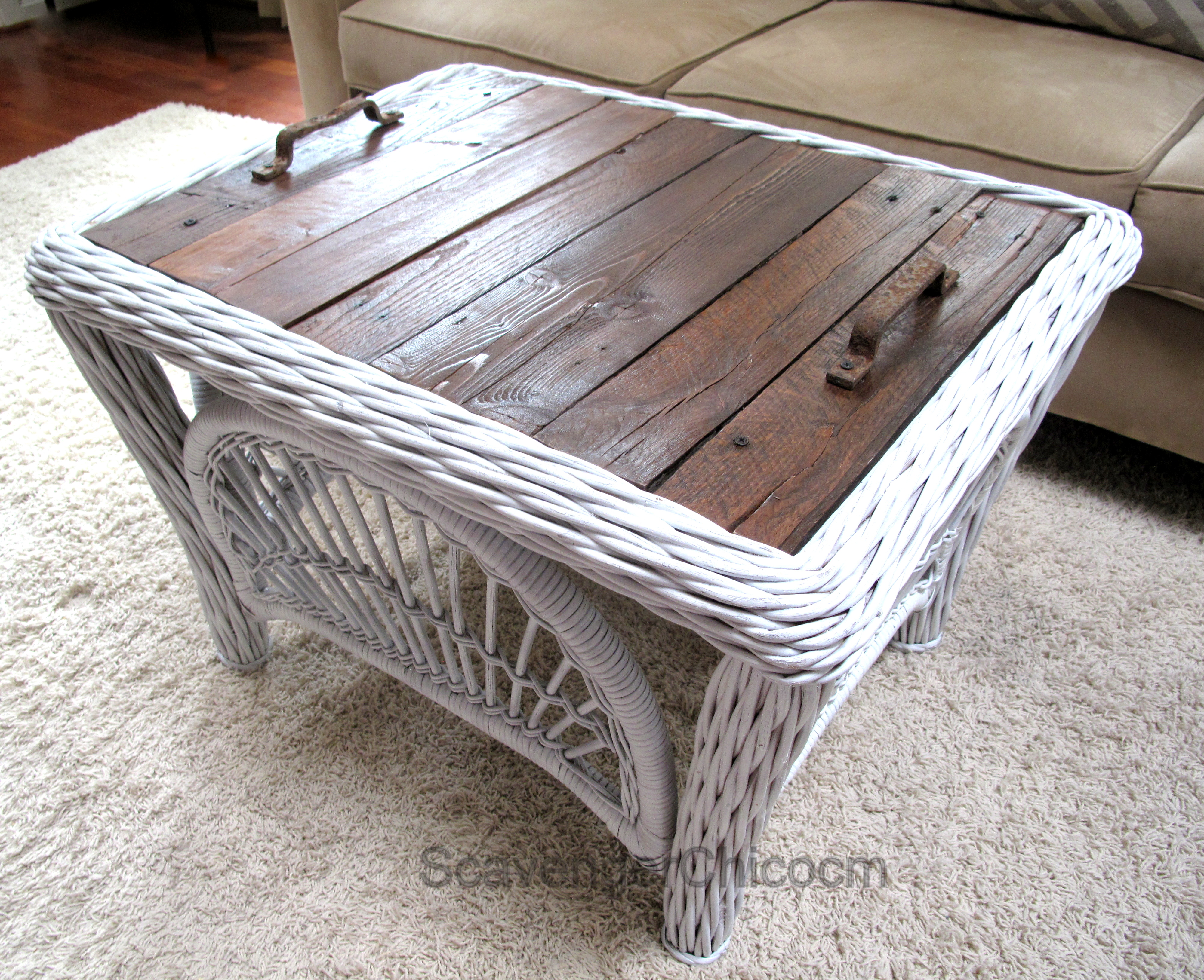 Coffee Tables and Side Tables Scavenger Chic