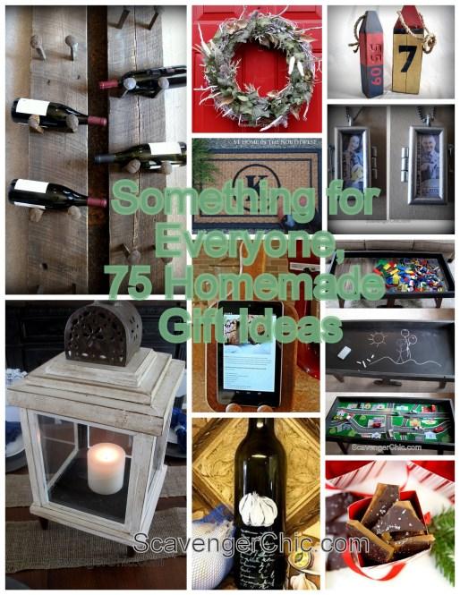 75 Homemade Gift Ideas
