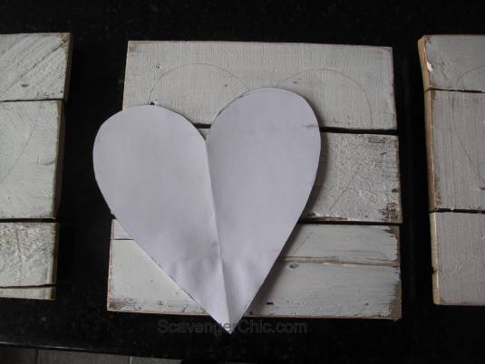 Family Fun, Wood Valentine Hearts