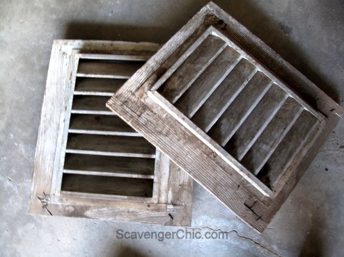 Picking Treasures from an Old Farmhouse, House Vents