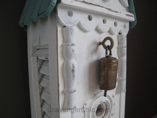 DIY Shutters and Junk Birdhouse