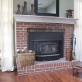 Painting a Brick fireplace surround