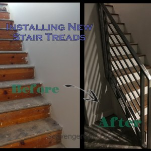 Installing New Stair Treads