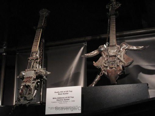 Rock and Roll Hall of Fame ZZ top guitar