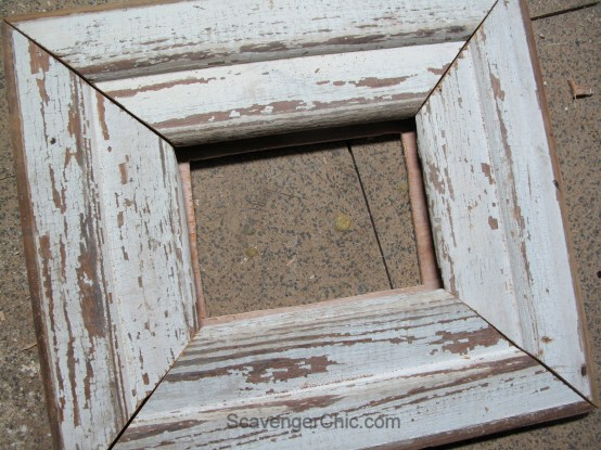 Vintage Wood Siding Frame