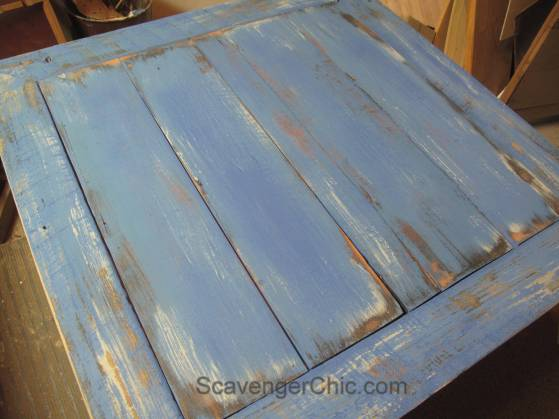 Creating a new tabletop from reclaimed wood
