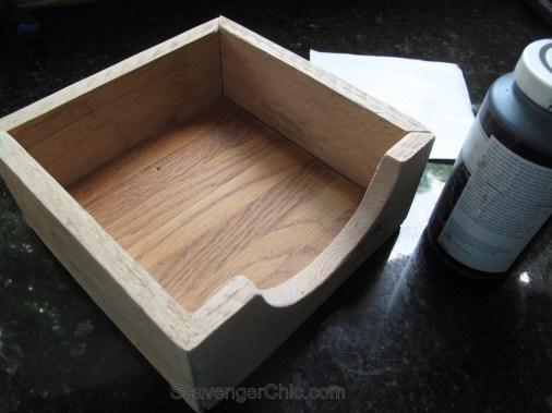 DIY Pallet Wood, Scrap Wood Napkin Holder