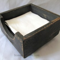 Pallet Wood Napkin Holder