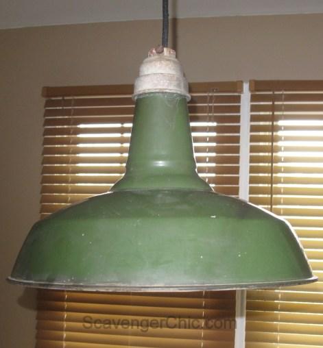 Rewiring Benjamin Barn Pendant Light diy