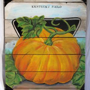 Pumpkin vintage Sign
