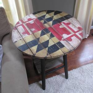 Maryland Flag Table