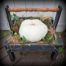 Easy Fall Pumpkin Holder, Centerpiece, Planter, Pallet Wood Projects