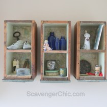 Upcycled, Recycled, Repurposed Drawer Shelves-017