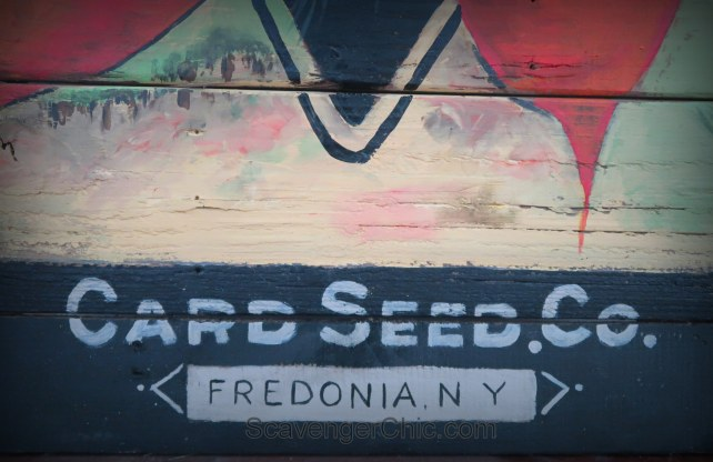 intage Carrot Seed Packet Pallet Wood Sign