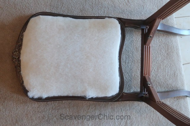 Upholstered French style chair makeover diy-013