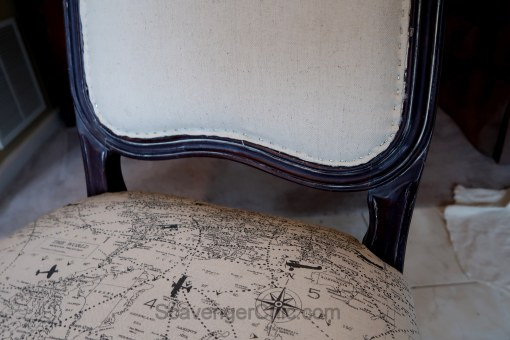 Upholstered French style chair makeover diy-015