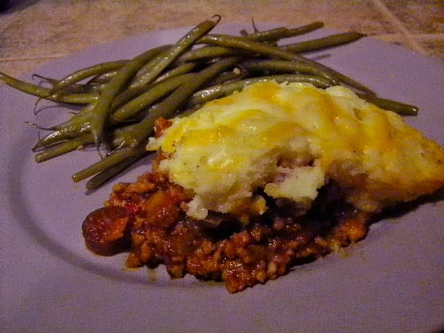 SCD Recipe: Jazzed Up Shepherd's Pie with Cauliflower Topping
