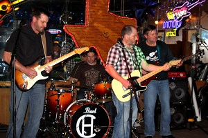 Hard Country and friends at Cowboy Club