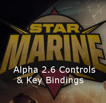 Star Citizen Alpha 2.6 Key Bindings | Commands | Controls