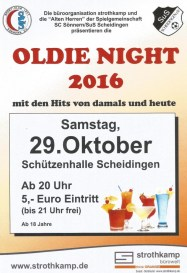 Plakat Oldie Night 2016