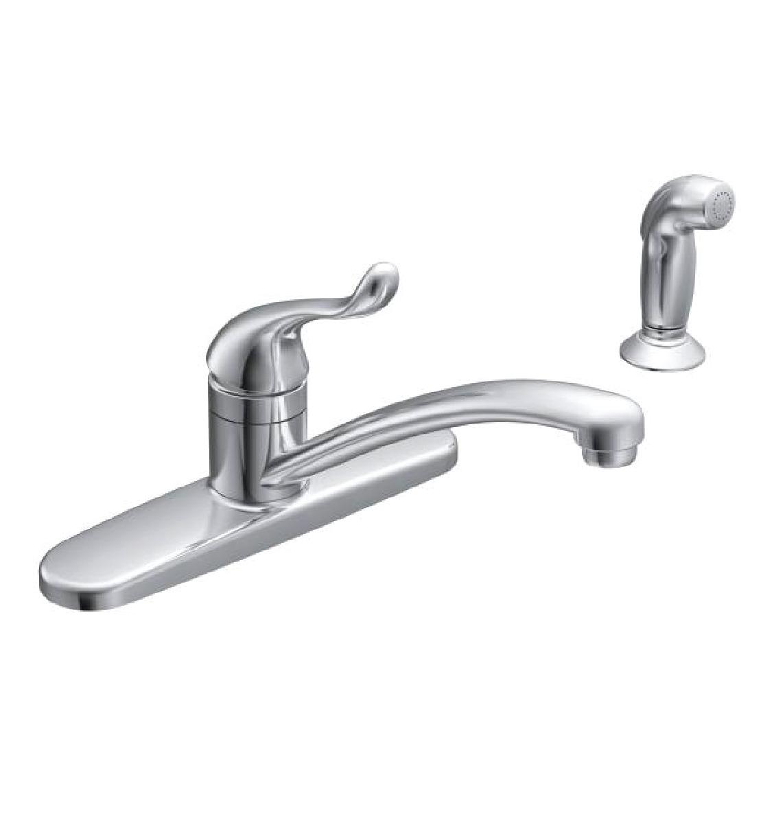 Moen CA87530 Adler One Handle Low Arc Kitchen Sink Faucet 01