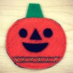 Felt Pumpkin Treat Pouch