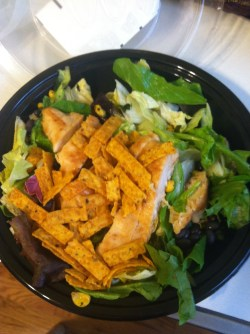 Hairy Grilled I Asked Noshredded Cheese To Cut Calories Because I Love Cheese On My Salads Mcdonalds Mcdonalds Southwest Salad Dressing Mcdonald S Southwest Salad Grilled Ken Calories I Had Premium So