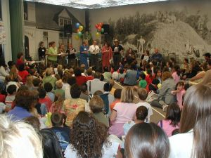 Family Night featured a popular Principals' Readers Theater performance.