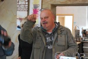 Der Chef der Eisschleuse. Alle Fotos: Lutz Reinhardt