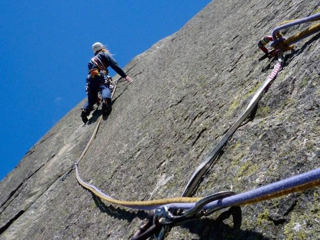 Klettern am Grimselpass