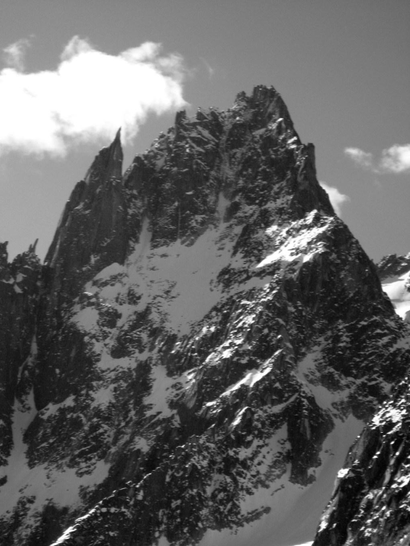 die Nordwand der Charmoz