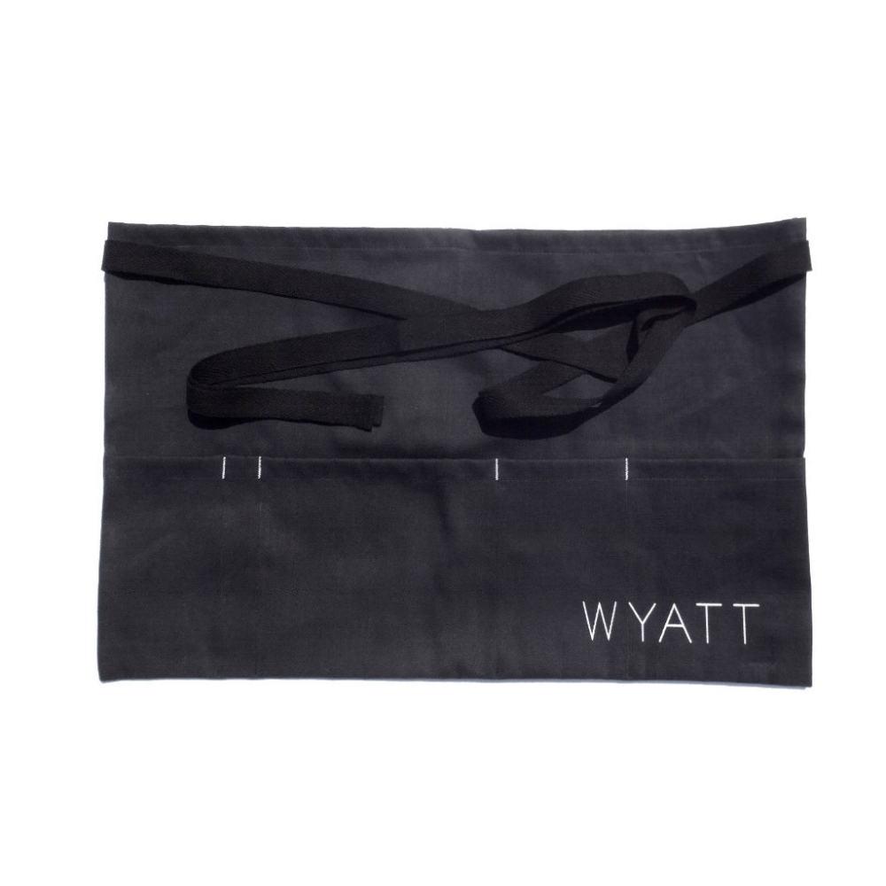 WYATT × VOIRY  Denim Apron Bag wyatt voiry blog
