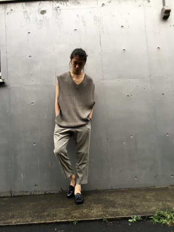 Gray Coordinate vintage styling pimpstick_jp blog