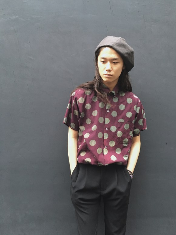 西染めDot Shirts vintage styling blog