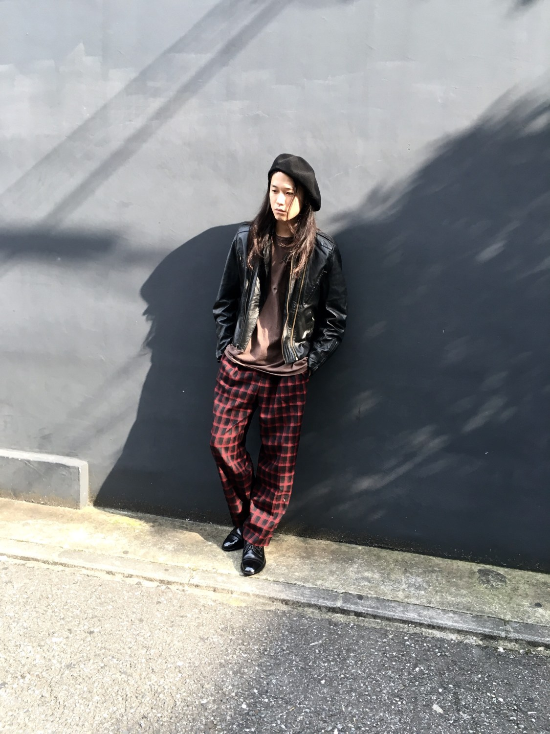 Wool Check Pants Style vintage styling blog
