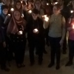 Kerzen für den Frieden