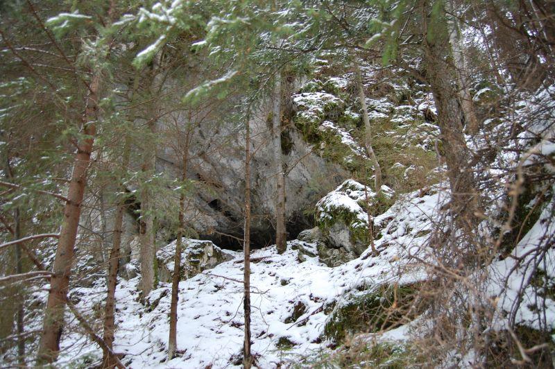 Vstup do Medvedej jaskyne