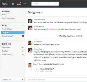 hall_project_collaboration_group_chat