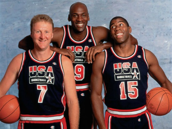 Pizza-and-Beer-NBA-USA-Basketball-NBA-TV-The-Dream-Team-sports-documentary-June-13-Olympics-Barcelona-1992-1