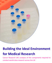 "The cover of ""Building the Ideal Environment for Medical Research"""