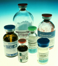 An image of chemotherapy drugs