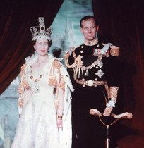 The Queen and Prince Philip in 1953