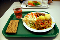 Plate of food (image from WIkimedia Commons)