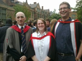 Vicky Forster Graduation