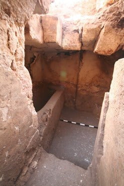 Bathtub from Jesus-era Priestly Mansion Excavated at Mt Zion
